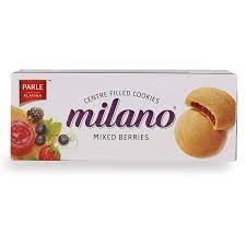 Parle Milano Platina Berry Centered Filled Biscuits (75g)