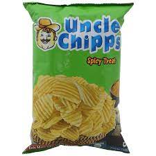 Uncle Chips Spicy Treat Potato Chips (60g)